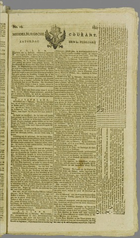 Middelburgsche Courant 1807-02-21