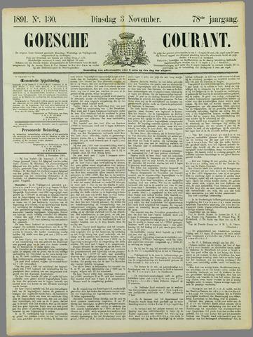 Goessche Courant 1891-11-03