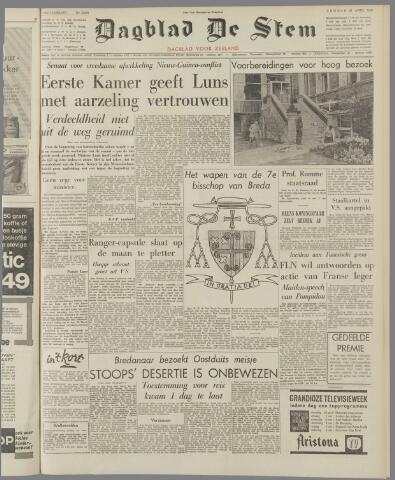de Stem 1962-04-27