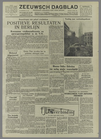 Zeeuwsch Dagblad 1954-02-19