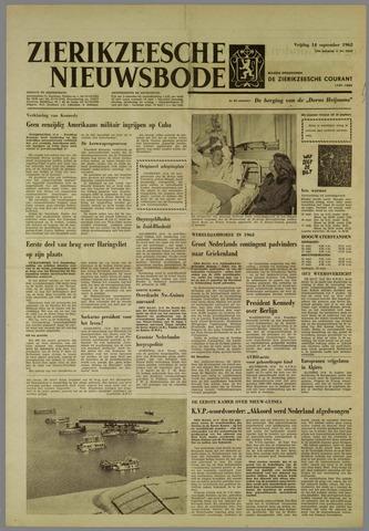 Zierikzeesche Nieuwsbode 1962-09-14