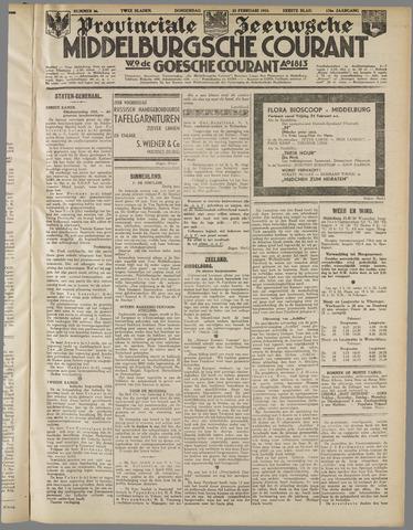 Middelburgsche Courant 1933-02-23