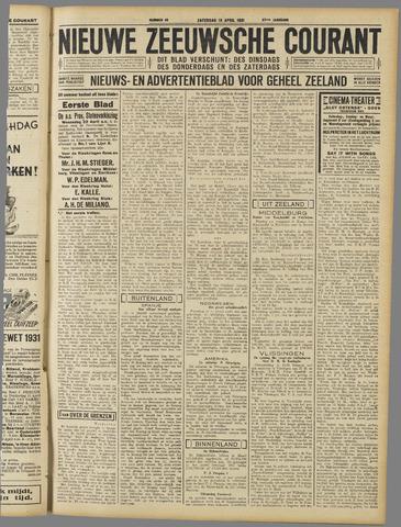Nieuwe Zeeuwsche Courant 1931-04-18