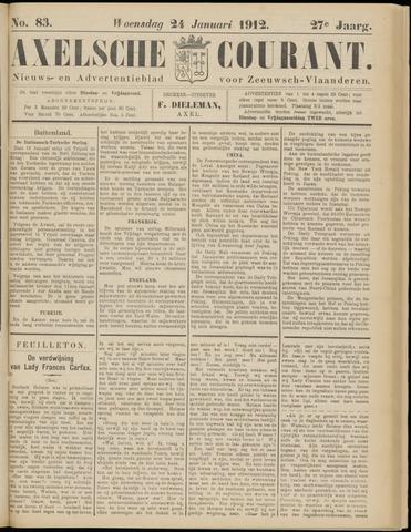 Axelsche Courant 1912-01-24