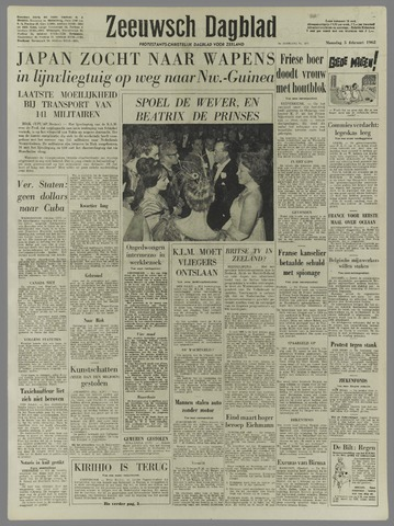 Zeeuwsch Dagblad 1962-02-05