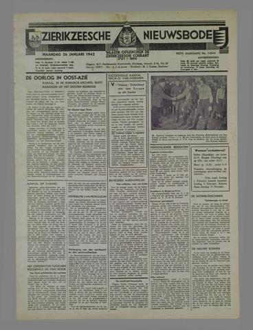 Zierikzeesche Nieuwsbode 1942-01-26