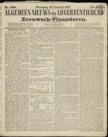 Ter Neuzensche Courant. Algemeen Nieuws- en Advertentieblad voor Zeeuwsch-Vlaanderen / Neuzensche Courant ... (idem) / (Algemeen) nieuws en advertentieblad voor Zeeuwsch-Vlaanderen 1867-01-16