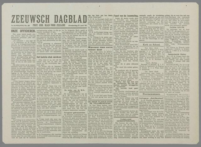 Zeeuwsch Dagblad 1945-06-21