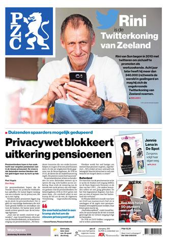 Provinciale Zeeuwse Courant 2018-10-18