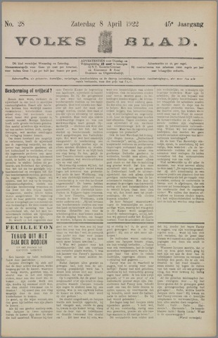 Volksblad 1922-04-08