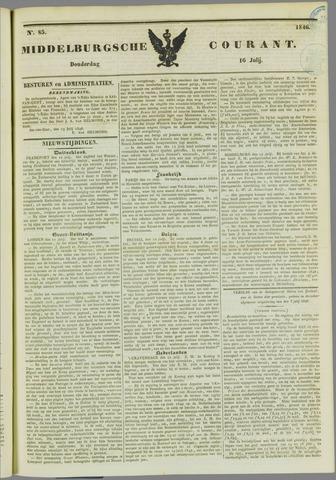 Middelburgsche Courant 1846-07-16