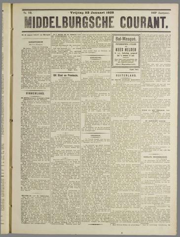 Middelburgsche Courant 1925-01-23
