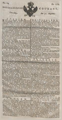 Middelburgsche Courant 1777-08-30