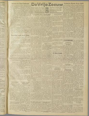 de Vrije Zeeuw 1945-02-14