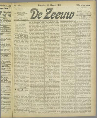 De Zeeuw. Christelijk-historisch nieuwsblad voor Zeeland 1919-03-11