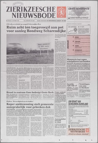 Zierikzeesche Nieuwsbode 1995-10-13
