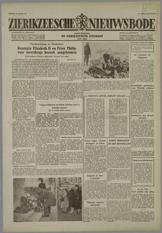 Zierikzeesche Nieuwsbode 1958-03-25
