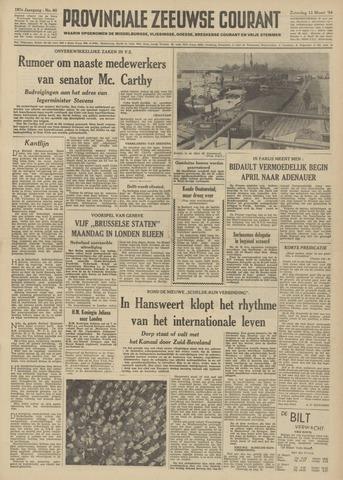 Provinciale Zeeuwse Courant 1954-03-13