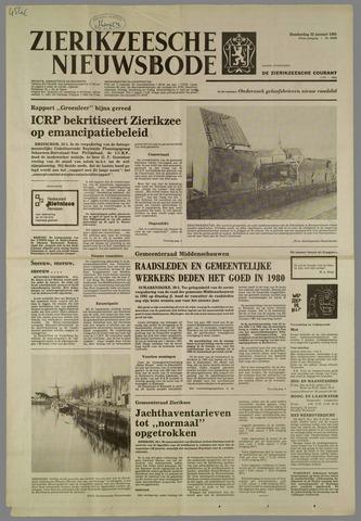 Zierikzeesche Nieuwsbode 1981-01-22