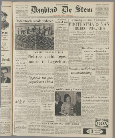 de Stem 1963-08-20