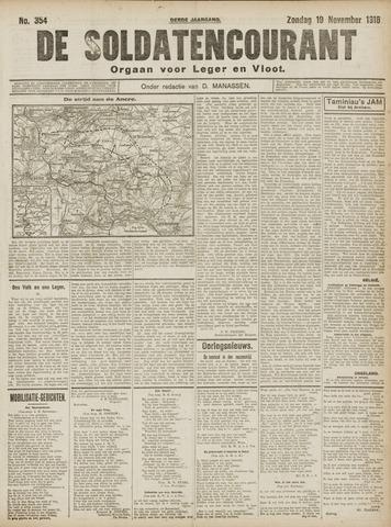 De Soldatencourant. Orgaan voor Leger en Vloot 1916-11-19