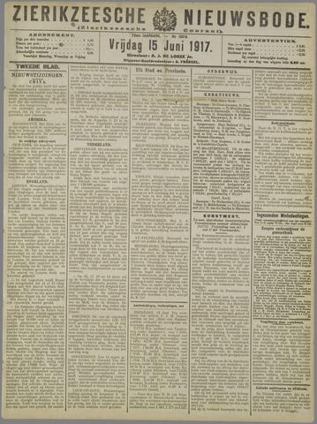 Zierikzeesche Nieuwsbode 1917-06-15