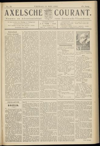 Axelsche Courant 1931-05-15