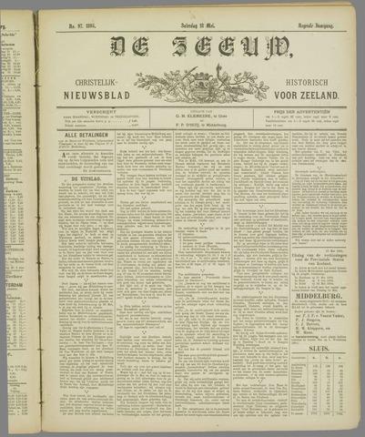 De Zeeuw. Christelijk-historisch nieuwsblad voor Zeeland 1895-05-18
