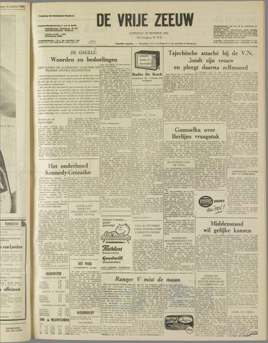 de Vrije Zeeuw 1962-10-20