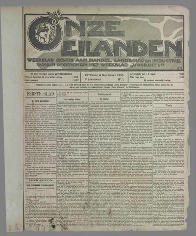 Onze Eilanden 1918