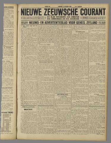 Nieuwe Zeeuwsche Courant 1925-10-13
