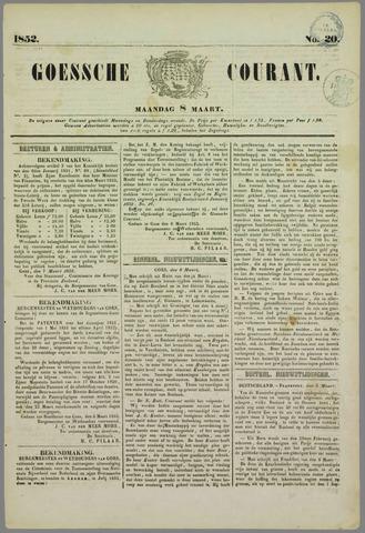 Goessche Courant 1852-03-08