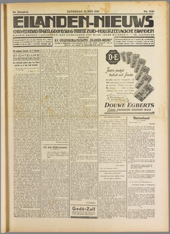 Eilanden-nieuws. Christelijk streekblad op gereformeerde grondslag 1939-05-13