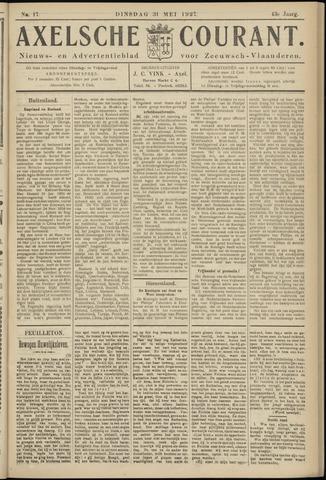 Axelsche Courant 1927-05-31
