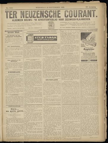Ter Neuzensche Courant. Algemeen Nieuws- en Advertentieblad voor Zeeuwsch-Vlaanderen / Neuzensche Courant ... (idem) / (Algemeen) nieuws en advertentieblad voor Zeeuwsch-Vlaanderen 1929-09-25