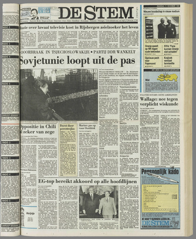 de Stem 1989-12-11