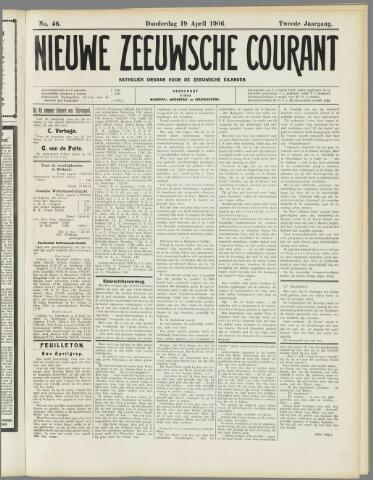 Nieuwe Zeeuwsche Courant 1906-04-19