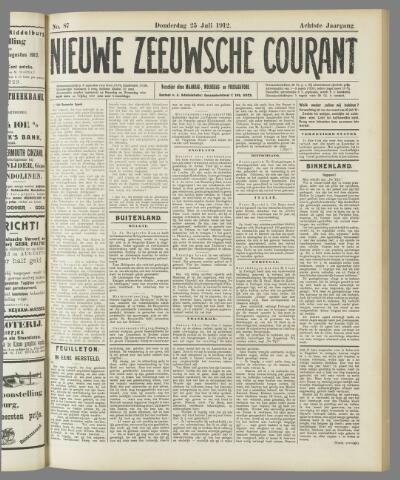 Nieuwe Zeeuwsche Courant 1912-07-25