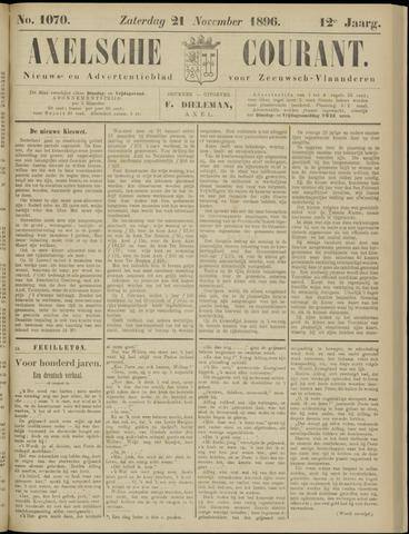 Axelsche Courant 1896-11-21