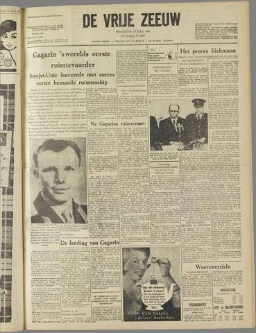 de Vrije Zeeuw 1961-04-13