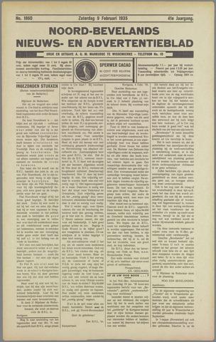 Noord-Bevelands Nieuws- en advertentieblad 1935-02-09