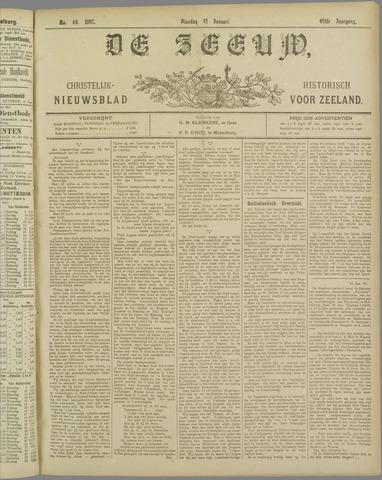 De Zeeuw. Christelijk-historisch nieuwsblad voor Zeeland 1897-01-12