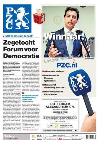 Provinciale Zeeuwse Courant 2019-03-21