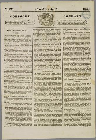 Goessche Courant 1849-04-02