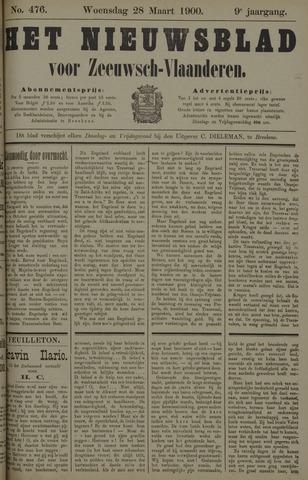 Nieuwsblad voor Zeeuwsch-Vlaanderen 1900-03-28