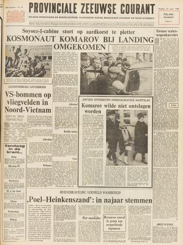 Provinciale Zeeuwse Courant 1967-04-25