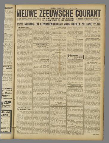 Nieuwe Zeeuwsche Courant 1925-03-05