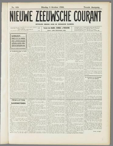 Nieuwe Zeeuwsche Courant 1906-10-09