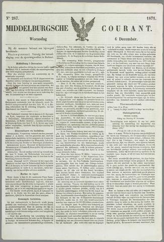 Middelburgsche Courant 1871-12-06