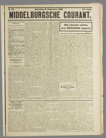 Middelburgsche Courant 1925-12-19